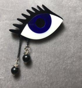 Брошь «Глаз»