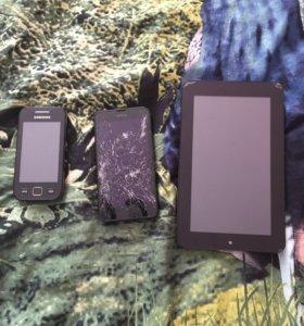 Телефоны, планшет