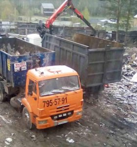 Вывоз мусора, транспортировка ТБО и КГМ