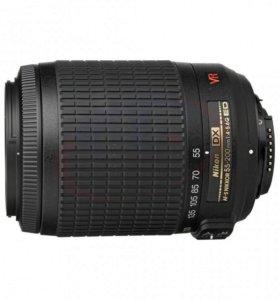 Объектив Nikon AF-S Nikkor 55-200mm