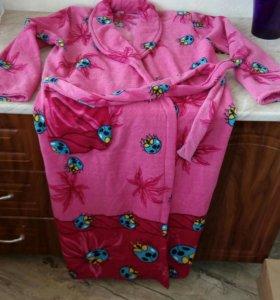 Новый махровый халат