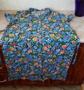 Новые ситцевые халаты