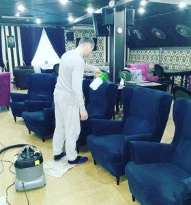 Химчистка мебели и ковров.Уборка помещений.