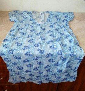 Новые ситцевые ночные сорочки