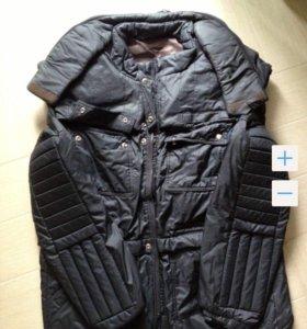 Эксклюзивная куртка с брони пластинами.