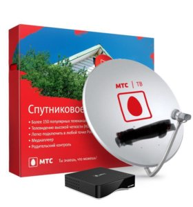 Спутниковое телевидение МТС