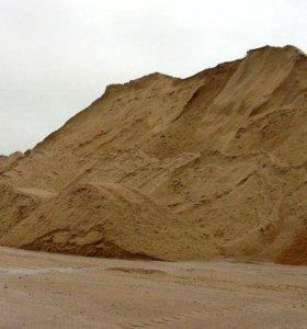 Щебень , Песок