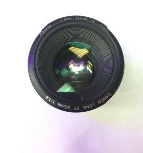 объектив CANON 58mm