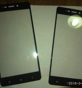 Стекло на Xiaomi redmi 4