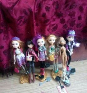 Куклы эверяшки, монстр хай