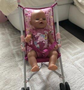 Коляска для кукол  трость Baby born