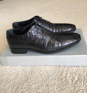 Обувь из крокодила BARCLY