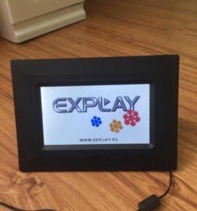 Электронная фоторамка explay