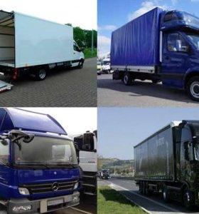 Грузоперевозки, грузовики