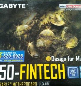 New материнская плата на 12 карт Gigabyte B250