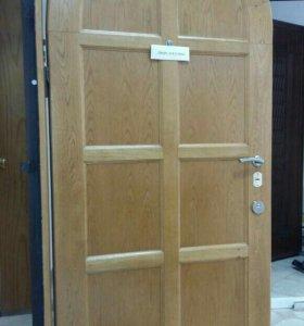 Уличная арочная дверь премиум класса