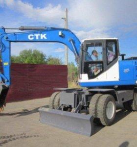 Аренда экскаватора CTK EXL135J