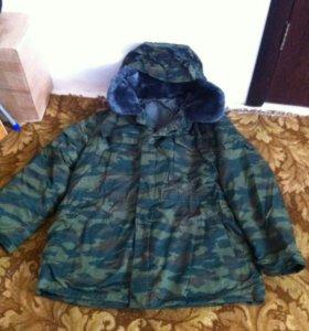 Куртка,брюки х/б утепленные