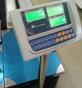 Весы эл. ВЭТ-600-1С-АБ до 600кг