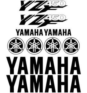 Набор наклеек YAMAHA YZF 450