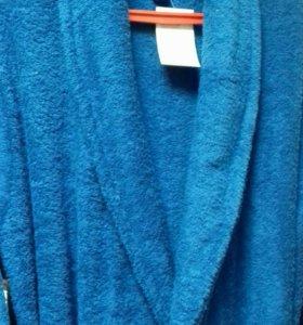 Новые мужские махровые халаты