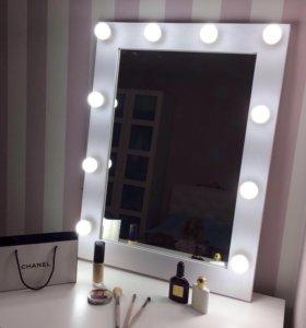 Гримёрное зеркало | make-up зеркало с подсветкой