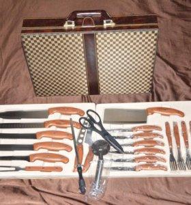Подарочный набор ножей и столовых предметов