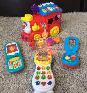 Набор интерактивных игрушек