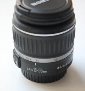 Объектив Canon EF-S 18-55mm f/3.5-5.6 II