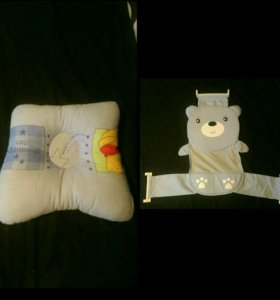Подушка и гамак для купания для новорожденных