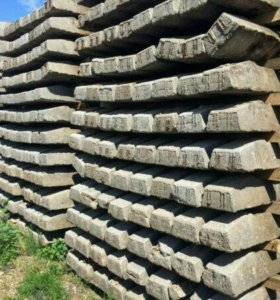 Шпалы железобетонные, деревянные