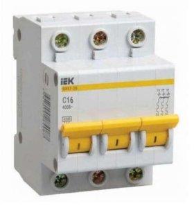 Автоматический выкл. IEK ва47-29 С16 3Р