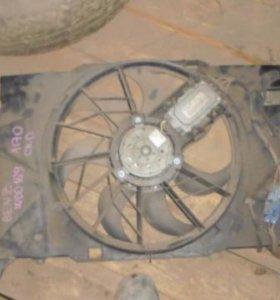 Диффузор вентилятора Mercedes Benz A140/160 W169 2