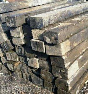 Шпалы деревянные, железобетонные