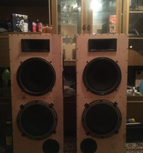 3-полосная напольная акустика