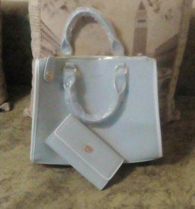 Сумка и кошелек, серия, новое, упаковано