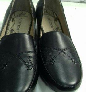 Продаю новые кожаные туфли