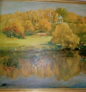 Картина Дворянское гнездо