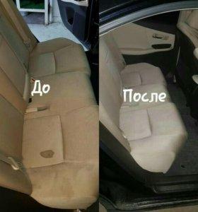Химчистка вашего салона автомобиля