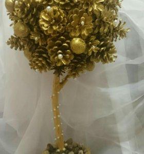 Золотое дерево, топиарий