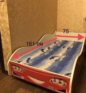 Кровать-машина (с матрасом)