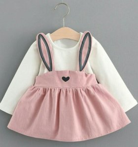 Нарядное красивое платье для девочки новое 1 год
