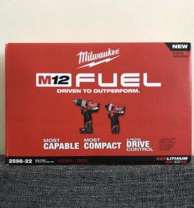 Milwaukee fuel M12 gen 2 2598-22 новый набор