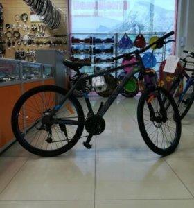 Велосипед стелс навигатор 570D. Тормоза гидравлика