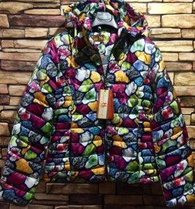 Новая куртка на синтепон 44,46 р