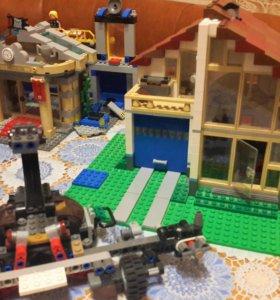LEGO(оригинал) 7наборов+137минифигурок+ 4,5 кг дет