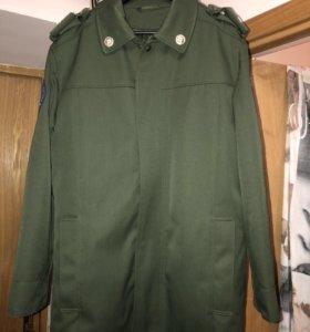 Пальто армейское демисезонное