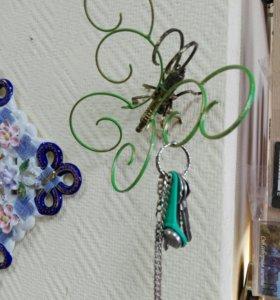 Интерьерные бабочки ключницы