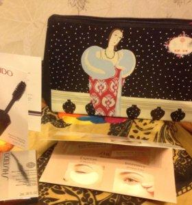 Shiseido косметичка с миниатюрами