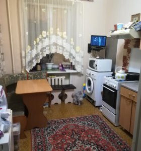 Квартира, 1 комната, 41.5 м²